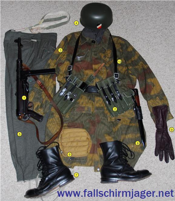 Fallschirmjäger net - Basic Fallschirmjäger Gear